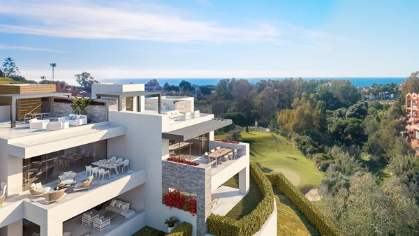 Moderne Apartments Cabopino Golf - 1179-21